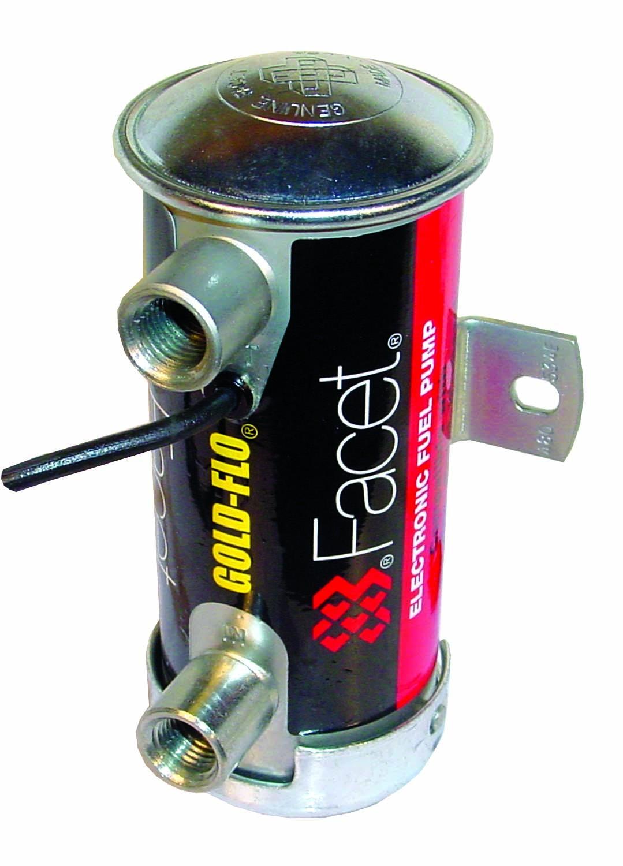 Facet Cylindrical Fuel Pump 12v & 24v