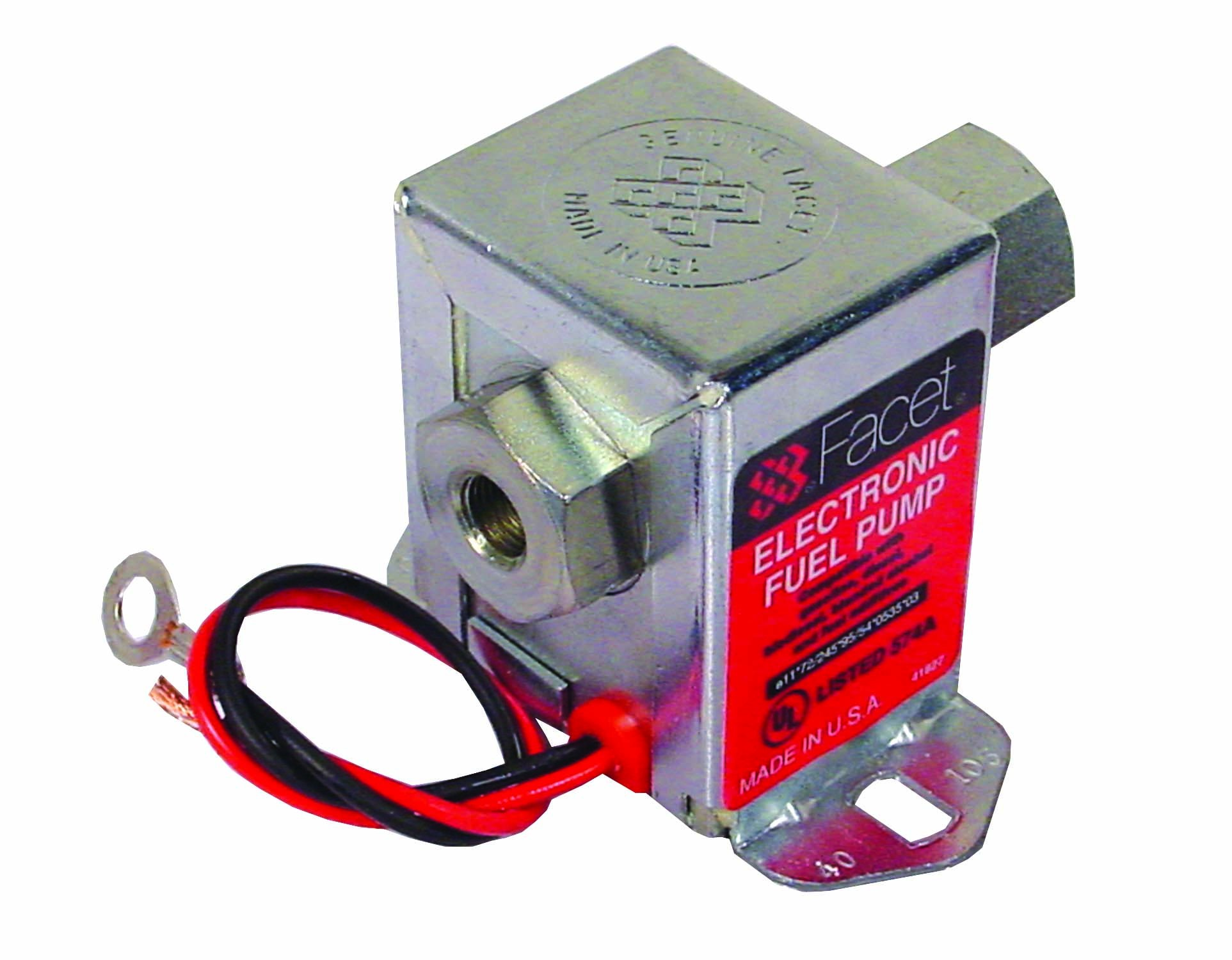 Facet Solid State Fuel Pump 12v & 24v