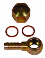 Steel 8mm Banjo & Cap Nut Assembly (Bosch 0580254044)