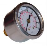 Sytec Fuel Pressure Gauge 1-7 bar (Glycerine filled)