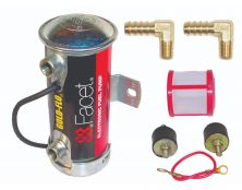 Facet Silver Top Competition Cylindrical Fuel Pump Kit