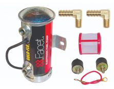 Facet Silver Top Cylindrical Fuel Pump Kit