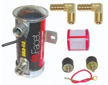 Facet Red Top Cylindrical Fuel Pump Kit (8mm Tails)