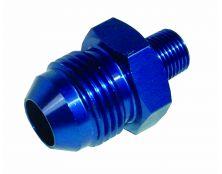 Alloy Fuel Union 1/8th Nptf - jic-8 (Blue)
