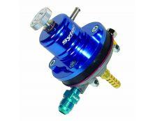 Sytec EFI 1:1 Adjustable Motorsport Regulator (Jic6-8mm) Blue