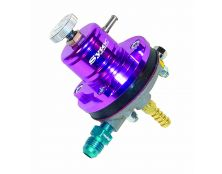 Sytec 1:1 Adjustable Motorsport Fuel Regulator (Jic6-8mm) Purple
