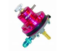 Sytec 1:1 Adjustable Motorsport Fuel Regulator (Jic6-8mm) Red