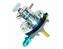 Sytec 1:1 Adjustable Motorsport Fuel Regulator (Jic6-8mm) Silver