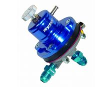 Sytec 1:1 Adjustable Motorsport Fuel Regulator (Jic6 - Jic6) Blue