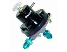Sytec Adjustable Motorsport Fuel Regulator (Jic6-Jic6) Black