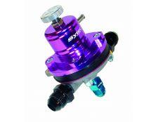 Sytec EFI 1:1 Motorsport Regulator (JIC8 x 2 +JIC6 Unions) Purple