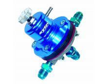 Sytec EFI 1:1 Motorsport Regulator (JIC6 x3 Unions) Blue