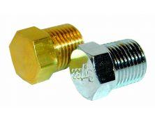Malpassi Guage Port Balanking Plug (Brass)