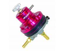 SYTEC PBV Fuel Pressure Regulator - RED - 8MM TAILS