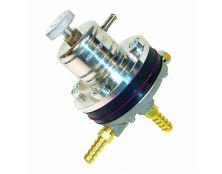 SYTEC PBV Fuel Pressure Regulator  SILVER - 8MM TAILS