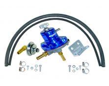 Sytec 1:1 Adjustable Fuel Pressure Regulator Kit (Blue)