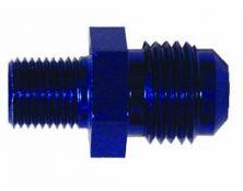 Alloy Straight Union M10x-6 (Blue)