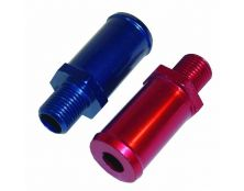 Alloy Straight Union 10x1 - 12mm (RED)