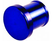 BLANKING PLUG (34MM TAIL) (Blue)