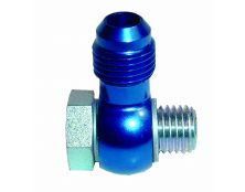 WEBER DCOE - DCO/SP Straight JIC6 (AN6) Fuel Union Assembly ( Blue )