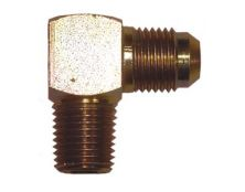 Steel Union 90 Degree 1/4 Npt-JIC4