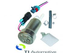 Walbro F90000267 Competition In Tank Fuel Pump Kit  (Pulse Width Modulation Compatible)