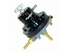 Sytec 1:1 Adjustable Motorsport Fuel Pressure Regulator (Black)