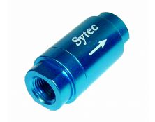 Sytec One Way Valve with 1/8 NPTF Female Connection (Blue)