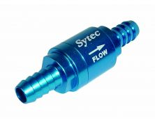 Sytec One Way Valve with 8mm push on tails (Blue)