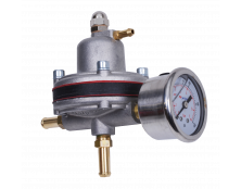 Malpassi 384 Rising Rate Fuel Pressure Regulator 1:1.7 with gauge