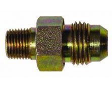 Steel Straight Union 1/8th nptf - JIC6
