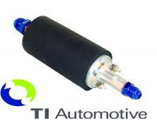 Ti Automotive Competition Out-Tank Fuel Injection Pump, jic8 in & Jic6 Out with Sound Sleeve (Weber PL-031)