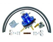 Sytec 1:1 Motorsport Adjustable Fuel Pressure Regulator Kit (Blue)