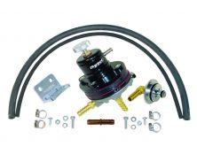 Sytec 1:1 Motorsport Adjustable Fuel Pressure Regulator Kit (Black)