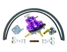 Sytec 1:1 Motorsport Adjustable Fuel Pressure Regulator Kit (Purple)