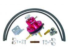 Sytec 1:1 Motorsport Adjustable Fuel Pressure Regulator Kit (Red)