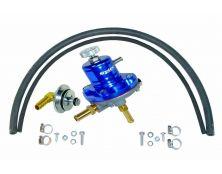 Sytec 1:1 Adjustable Fuel Pressure Regulator Kit (Black))