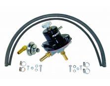 Sytec 1:1 Adjustable Fuel Pressure Regulator Kit (Black)