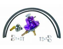 Sytec 1:1 Adjustable Fuel Pressure Regulator Kit (Purple)