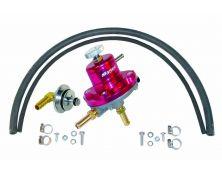 Sytec 1:1 Adjustable Fuel Pressure Regulator Kit (Red)